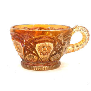Imperial FASHION Marigold Carnival Glass Punch Cup